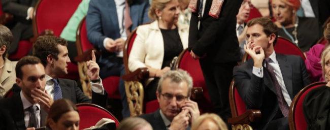 Albert Rivera devalúa la cumbre constitucionalista de Pablo Casado al delegar su asistencia