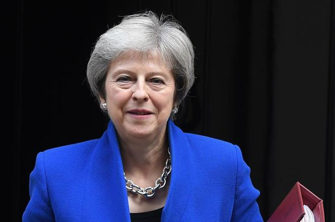 La premier británica Theresa May,