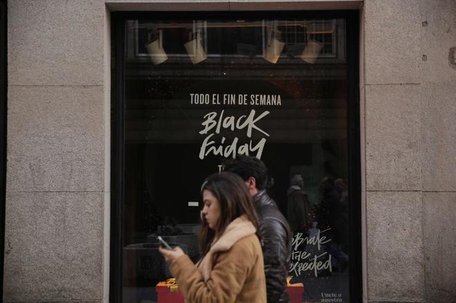 Comunidad de Madrid durante el Black Friday el año pasado.