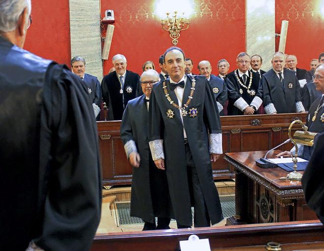El nuevo presidente del CGPJ y del Tribunal Supremo, Manuel Marchena