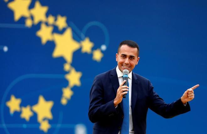 Luigi Di Maio, vicepresidente del Gobierno de Italia y ministro de Trabajo y Desarrollo.