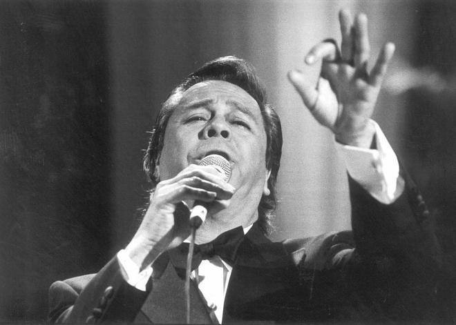 Foto de archivo de una actuación del cantante.