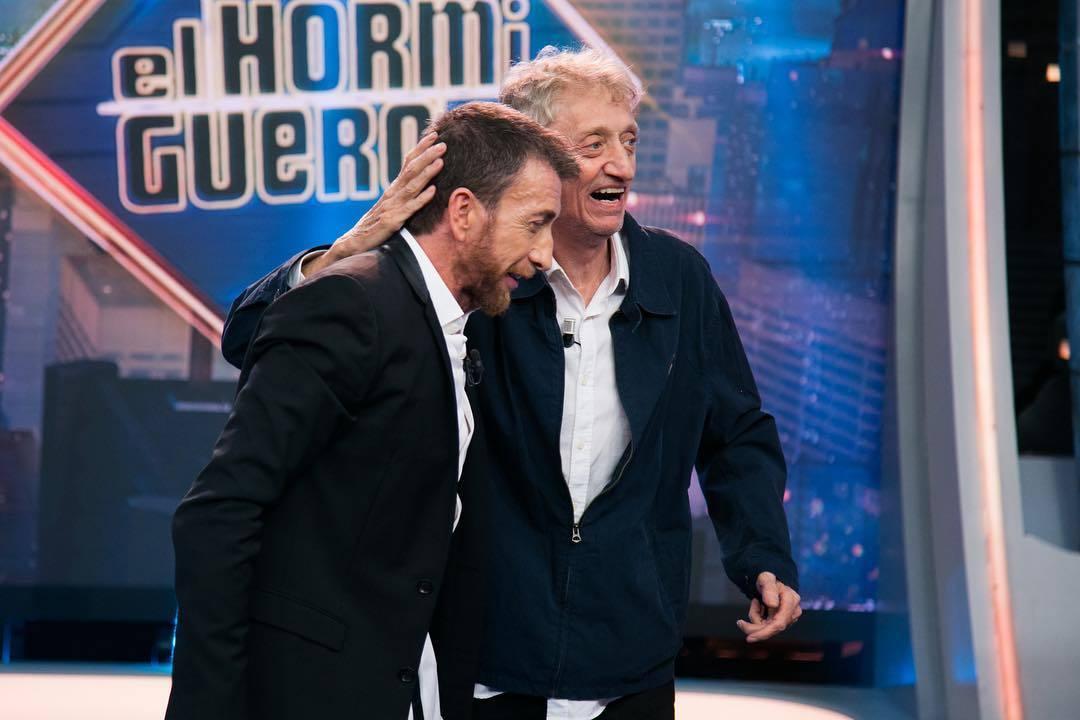 Pablo Motos y Enrique San Francisco se divirtieron mucho en 'El Hormiguero