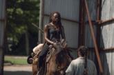 Michonne (Sanai Gurira) en el episodio 9x06 de 'The Walking Dead'.