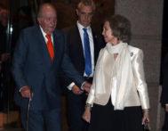 Don Juan Carlos y Doña Sofía, hace unos días.
