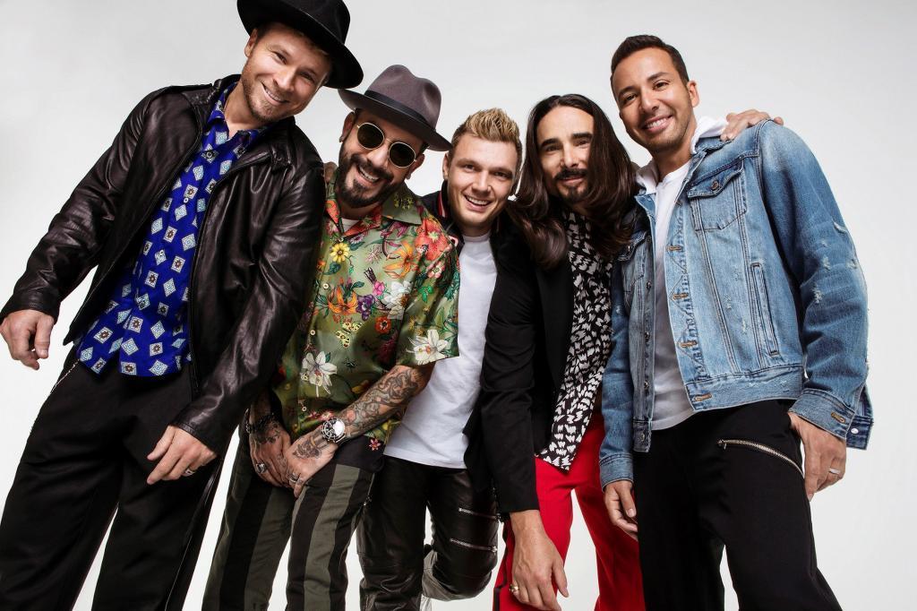 Los Backstreet Boys en una foto promocional