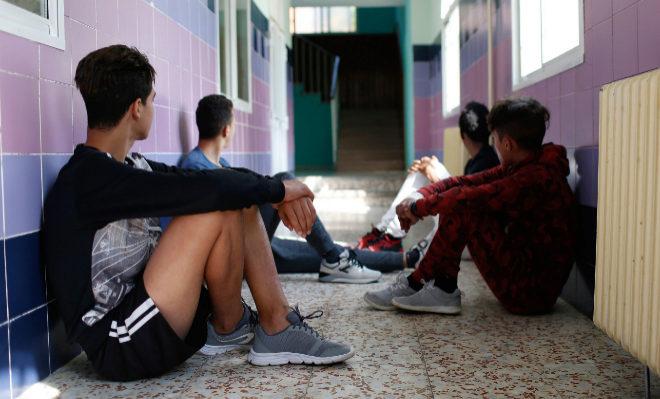 Menores extranjeros, en el Centro de Adaptación Cultural y Social (CACYS) Manzanares.