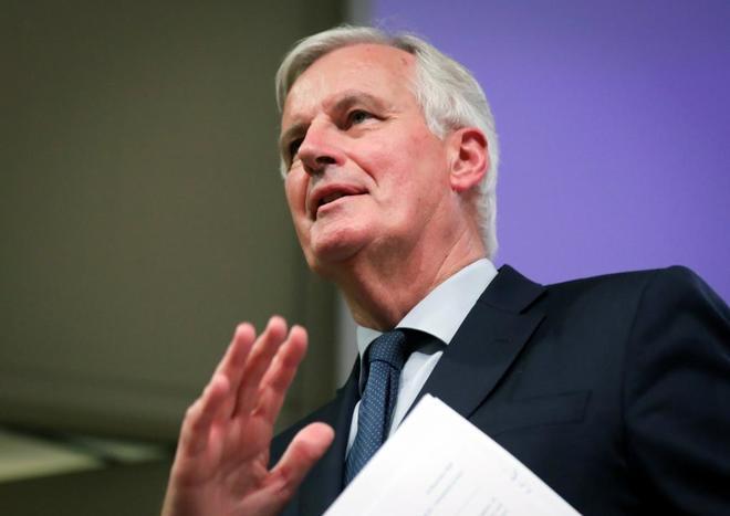 El negociador jefe de la Unión Europea para el Brexit, Michel Barnier.
