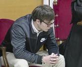 Patrick Nogueira, durante una de las sesiones del juicio en la...