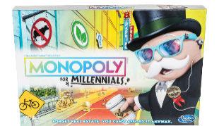 Imagen frontal del juego Monopoly for Millenials