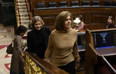La ex secretaria general del Partido Popular, María Dolores de...