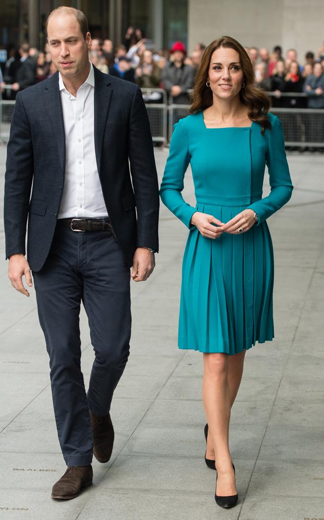 Kate Middleton Mantiene Su Talla Y Recicla Un Vestido De