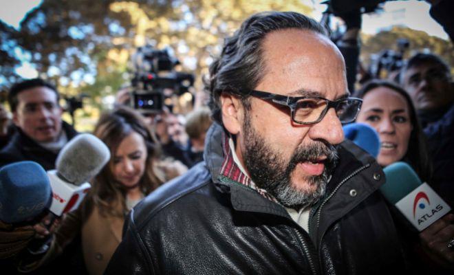 Álvaro Pérez, durante una declaración en el juzgado en febrero de 2017.