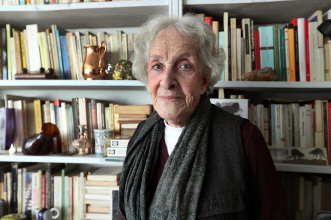 La poeta, traductora, ensayista, profesora y crítica literaria uruguaya Ida Vitale, ganadora del Premio Cervantes 2018