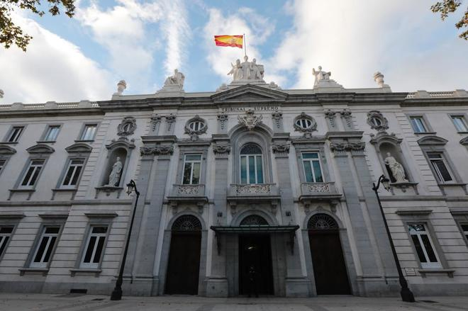 La sede del Tribunal Supremo, en Madrid.