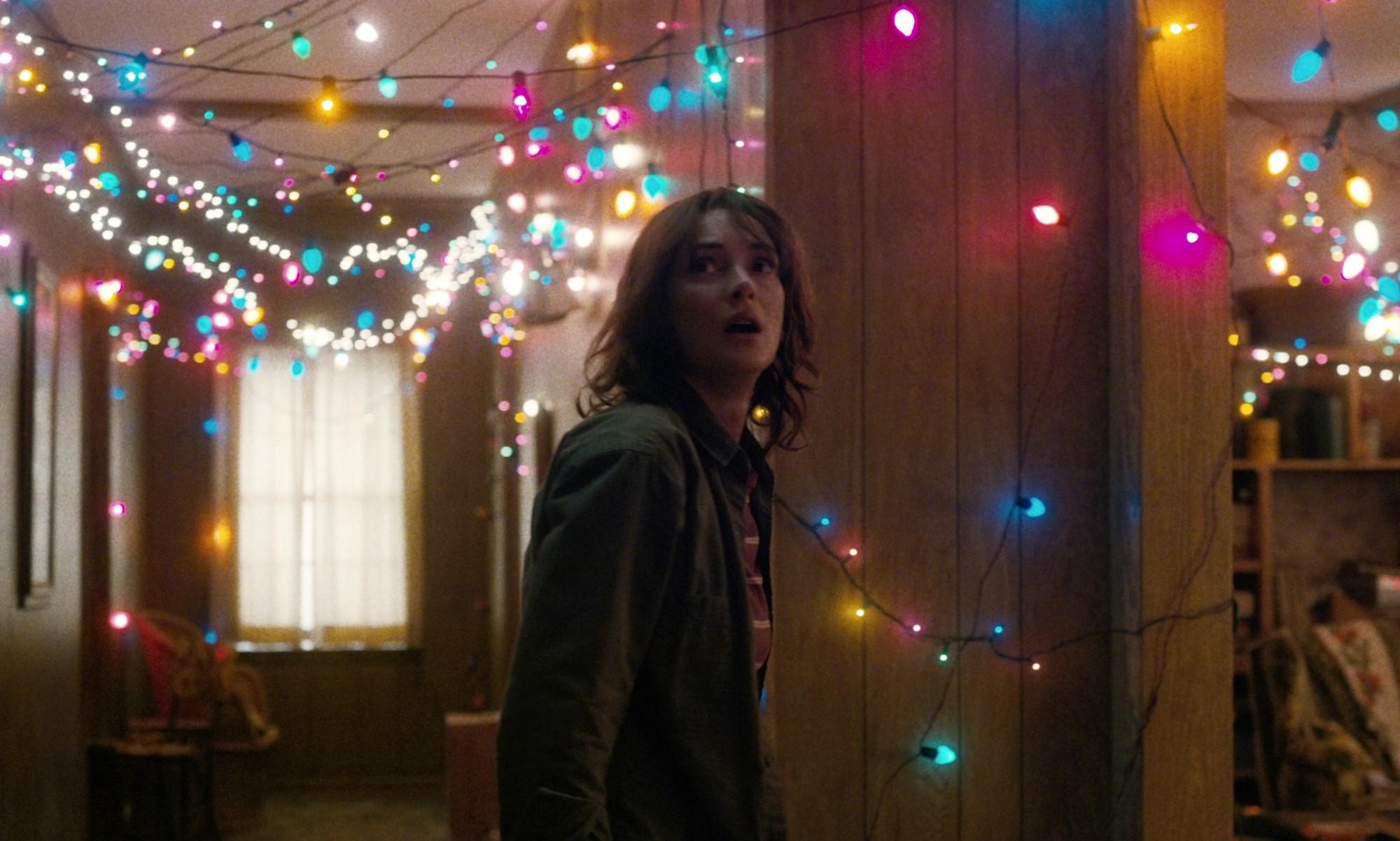 La actriz Winona Ryder, en la serie de Netflix 'Stranger Things'