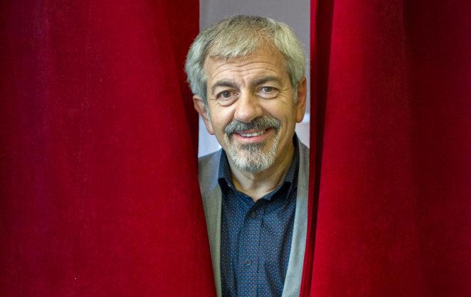 El presentador de 'First Dates', Carlos Sobera.