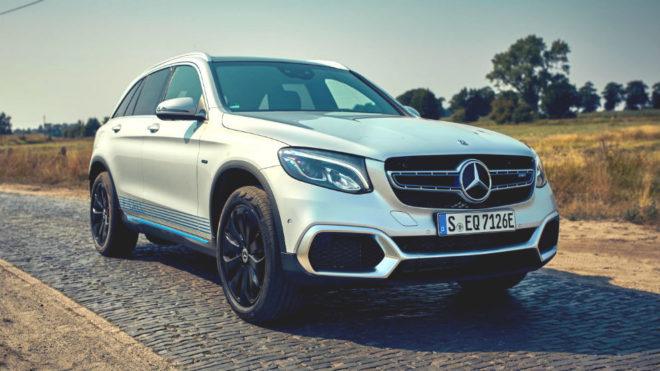 Mercedes GLC F-Cell, un SUV único en el mundo por su tecnología: pila de combustible e híbrido enchufable