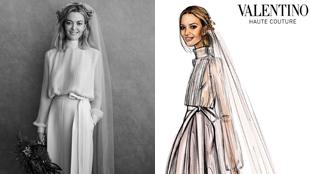 Así es el vestido de novia de la 'heredera' de Inditex