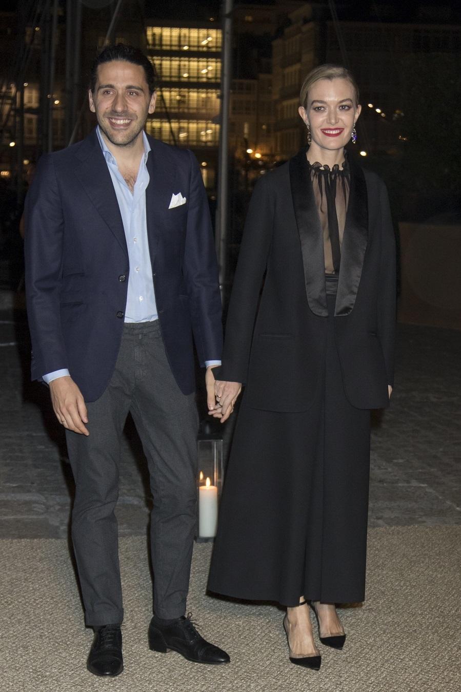 Marta Ortega y Carlos Torretta en la cena posterior al enlace civil