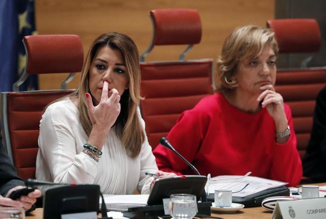 La presidenta de Andalucía, la socialista Susana Díaz.