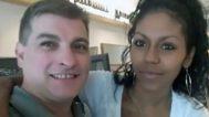 El Rey del Cachopo junto a su novia, Heidi Paz.