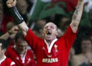 Gareth Thomas, en una imagen de archivo de su etapa en la selección galesa.