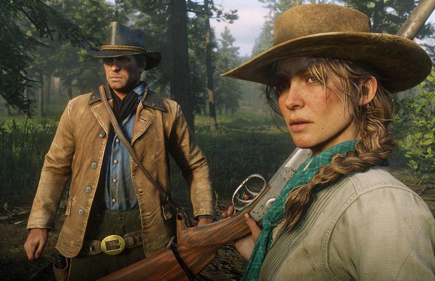 Fotograma de 'Red Dead Redemption 2'