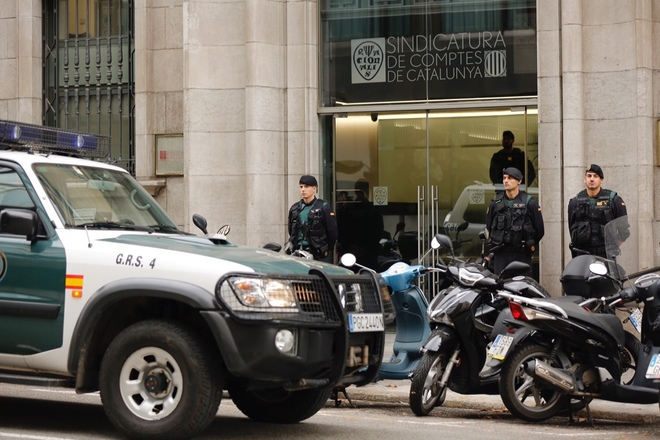 Operación dela Guardia Civil contra la corrupción en contratos de la...