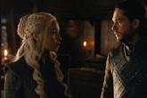 Daenerys y Jon Snow en una escena de Juego de Tronos