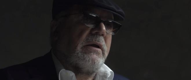 El ex comisario José Manuel Villarejo, durante la grabación del...
