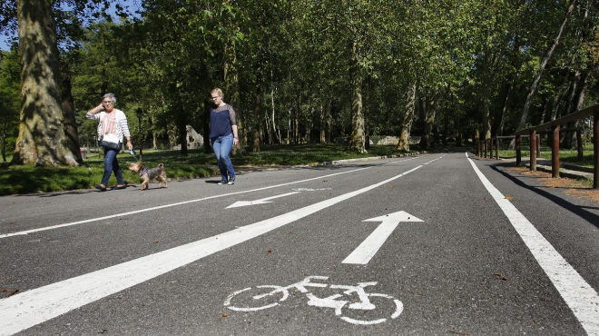 El Congreso reclama que las personas en silla de ruedas puedan usar el carril bici sin ser sancionados
