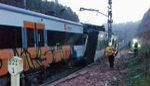 Un muerto y 49 heridos tras descarrilar un cercanías entre Terrassa y Manresa