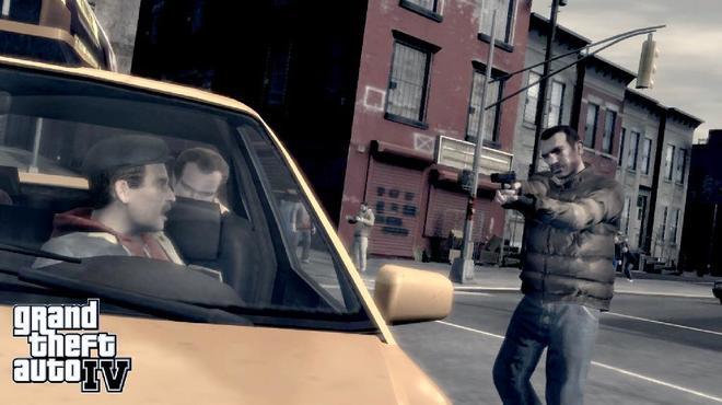 Fotograma del videojuego Grand Theft Auto en el que el pederasta captó a la menor.