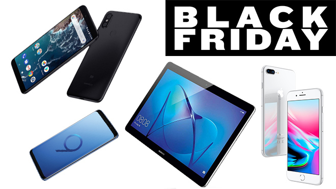 Black Friday 2018: los móviles y tablets con mejores descuentos