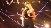 María, durante una de sus actuaciones en OT 2018
