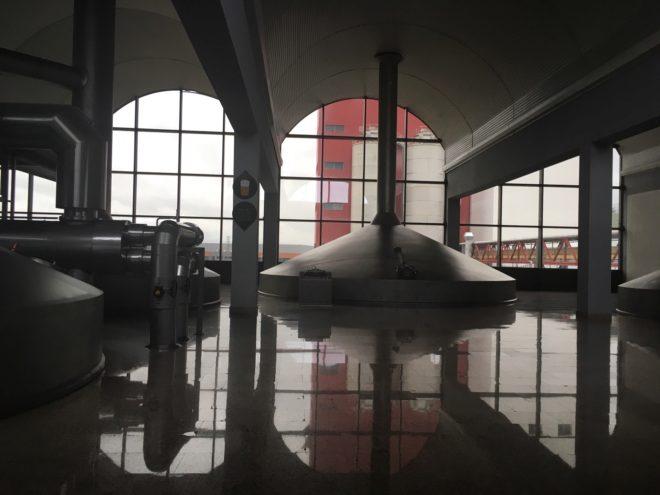 Fábrica de Mahou en Alovera (Guadalajara)
