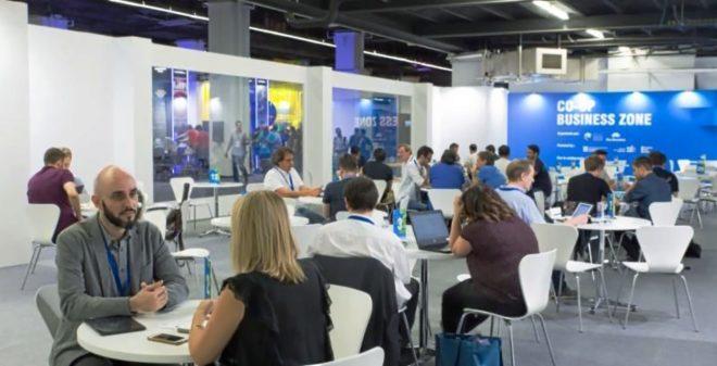 Encuentros durante la pasada edición de Co-Op Business Zone es ya un área consolidada dentro de las ediciones del Barcelona Games World.