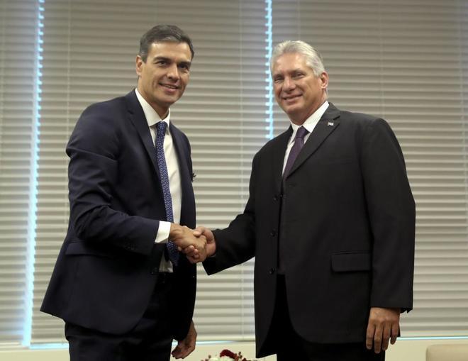 Cuba: Sánchez y los opositores