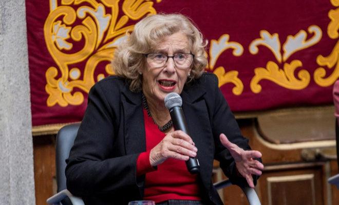 Manuela Carmena, durante un acto reciente.