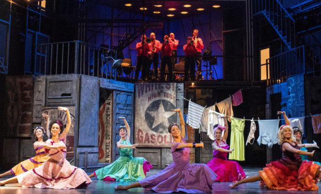 Imagen del musical West Side Story en Madrid