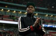 Usain Bolt, durante el amistoso entre Inglaterra y Estados Unidos.