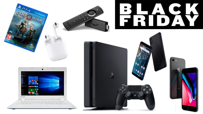 Productos tecnológicos en oferta este Black Friday 2018