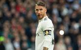 El jugador del Real Madrid Sergio Ramos antes del partido con el Eibar