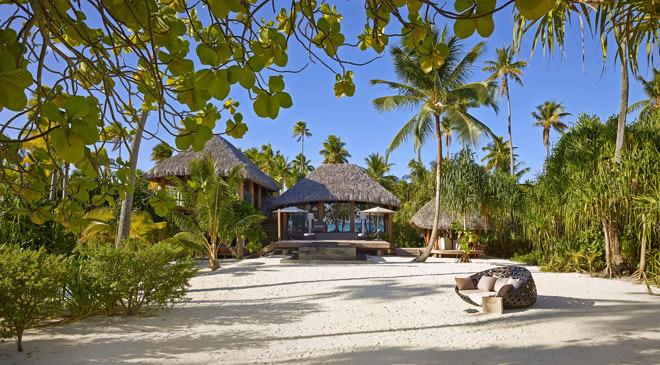 The Brando, el ecoresort de lujo que el actor Marlon Brando fundó en el atolón de Tetiaroa.