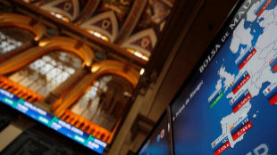 Imagen de las cotizaciones del Ibex 35 en la Bolsa de Madrid.