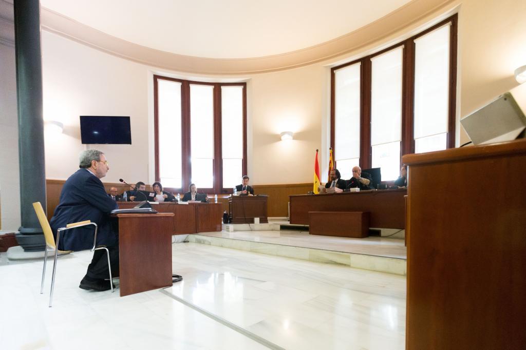 Serra en su declaración judicial