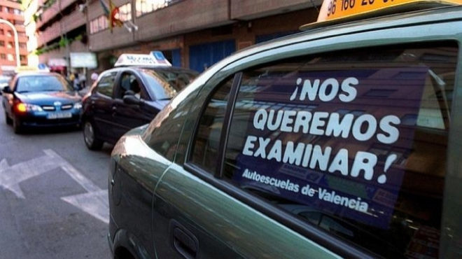 Los examinadores de tráfico vuelven a la huelga del 10 al 21 de diciembre por el impago del complemento