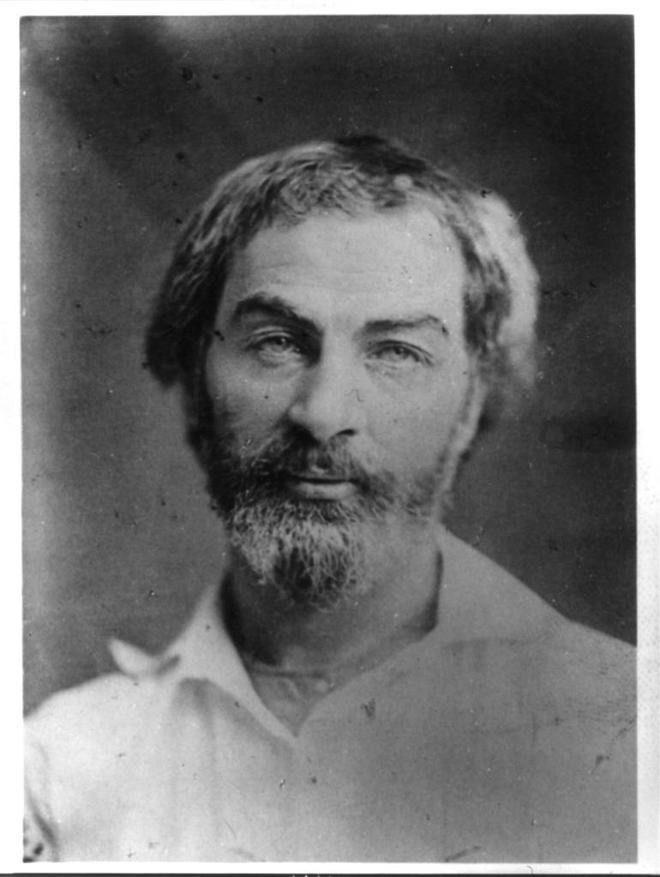 El humanista estadounidense Walt Whitman, quien fue poeta, enfermero voluntario, ensayista y periodista a lo largo de su vida.