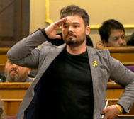 El político de ERC (36 años) cobra unos 7.500 euros al mes del Congreso.